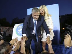 Athens; celebrate; celebration; celebrations; election; elections; Elections 2019; George Patoulis; Giorgos Patoulis; Marina Stavraki-Patouli; regional; second round; Supporter; supporters; Αθήνα; Γιώργος Πατούλης; Δεύτερος γ